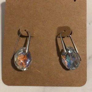 Swarovski hanging crystal earring